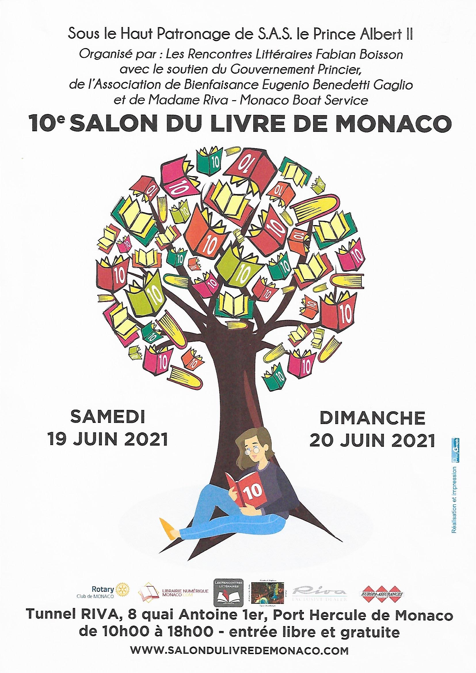 Locandina del decimo Salone del Libro di Monaco