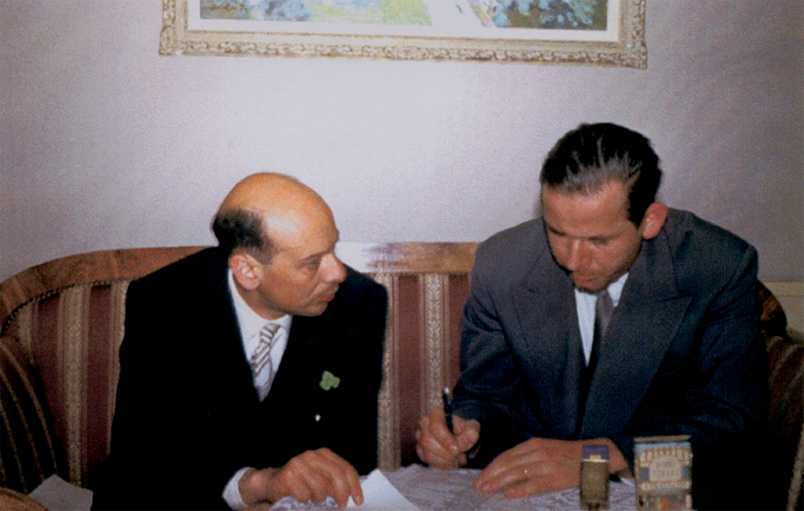 Gaetano Benedetti and Christian Müller